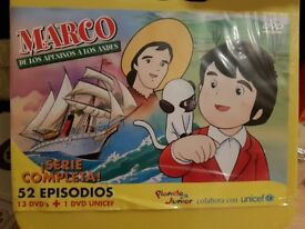 CD collection of TV series Marco in spanish