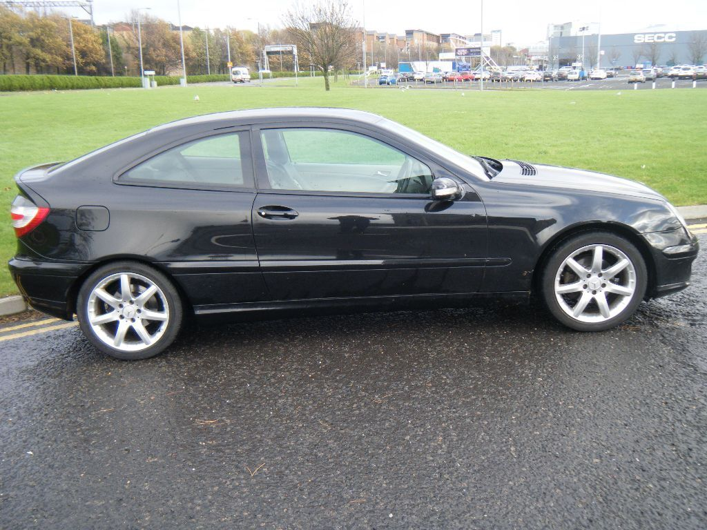 Mercedes c180 kompressor coupe 2005 in partick glasgow for C180 mercedes benz