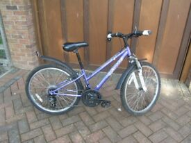 Girls Apollo XC24 bicycle
