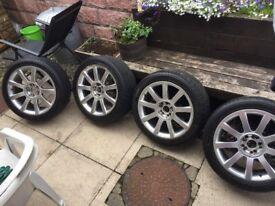Vw/Audi alloy wheels 5x112/5x100