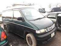 Mazda bongo ford camper van breaking parts available interior roof engine gearbox bumper bonnet