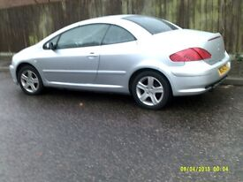2004 peugeot 307cc years mot taxed full service history low milage