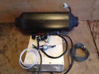 Complete Eberspacher d5 lc 4800w 24v blown air diesel heater airtronic van boat camper truck webasto