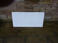 Central Heating Radiator Single Panel 530 mm x 1050 mm with brackets £10