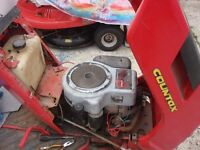 for sale petrol engine for garden tractor countax full working
