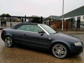 Audi A4 Convertible. 12months MOT. FSH. Ready for summer