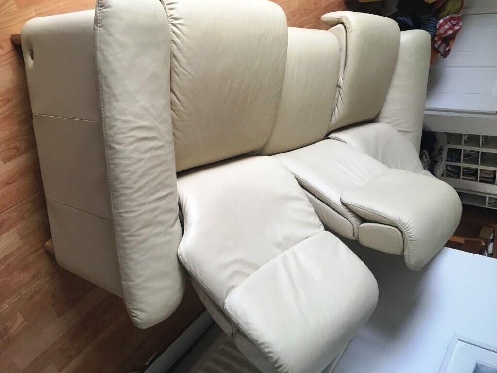 Cool Ekornes Stressless Paradise Reclining Sofa In Cream Leather 750 Ono Rrp Over 3000 In Lisburn County Antrim Gumtree Unemploymentrelief Wooden Chair Designs For Living Room Unemploymentrelieforg