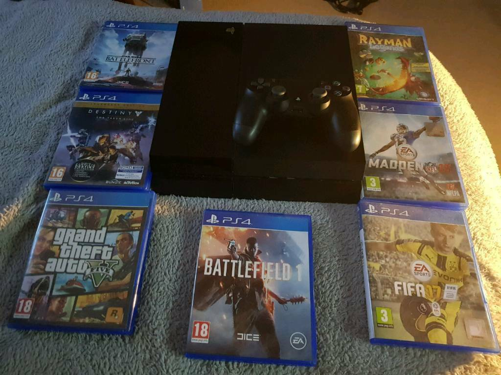 Playstation 4 | 7 Games | Controller