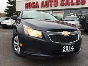 2014 Chevrolet Cruze 4dr Sdn 6 SPEED 4 DR FACTORY WARRANTY PW PL