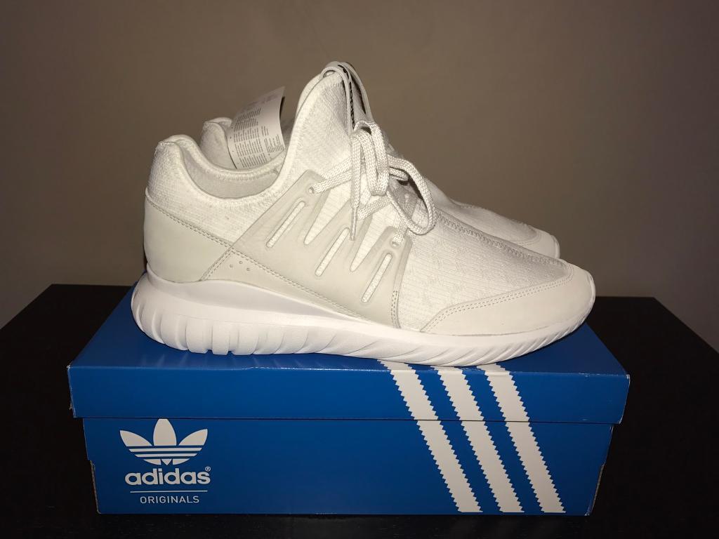 d0bd18968db8 ... denmark adidas tubular radial vintage white uk size 11 brand new 16a98  f5bad