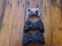PS 3 remote controllers faulty spare parts
