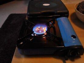 Campingaz blue portable gas stove burner