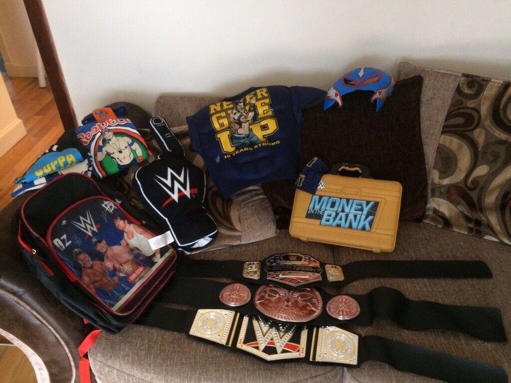 WWE starter pack
