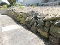 Granite Hedging Stones