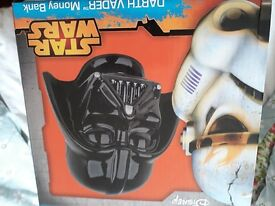 Darth vadar money box brand new