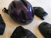 Cycling Helmet and pads