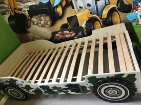 """Kids army """"special unit"""" jeep bed"""