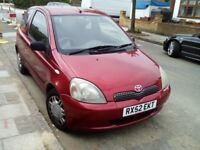 Toyota yaris 1.0 excellent drive very cheap to run