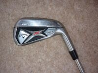 CALLAWAY X HOT PRO / 3 IRON / PROJECT X 6.0 FLIGHTED / STIFF