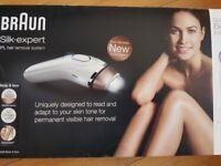 Braun Laser hair removal kit.
