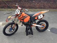 Ktm sx 125 2003 not ( cr yz rm kx ) crosser motocross