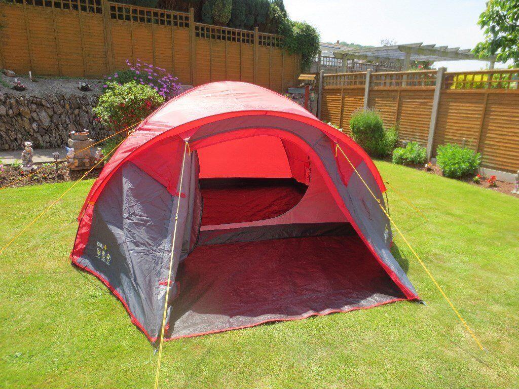 Regatta Kivu 4 Dome Tent In Torquay Devon Gumtree