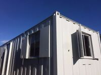 FOR SALE 32 x 10ft Anti Vandal Site Office / Canteen / Portable Building/ MORE UNITS AVAILABLE /