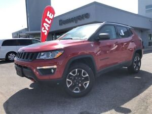 2017 Jeep Compass Trailhawk fully loaded