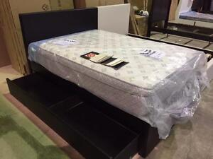 NEW--Until June 25, 2016--MAXIMUM DISCOUNT-- Floor Model - Single/Twin Storage Bed - 65% OFF. $262.15+Taxes. Various Col