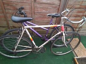 Lot of 2 bicycles. Spare and project.