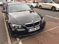 2006/56 Reg bmw 320 se manual 2.0 Ltr Black HPI clear mechanically perfect