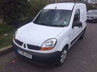2006 Renault Kangoo.Airbag.CD player.CL.E/W.PAS.TIMING BELT CHANGED AT 74K.RECENTLY SERVICED.NO VAT