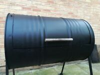 Commercial Drum Bbq
