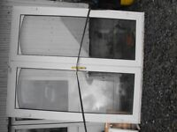 PVC Double Glazed French Door for Sale