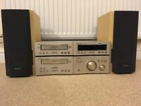 Technics SE-HD510 Separates Hi-Fi System with SB-HD510 Speakers