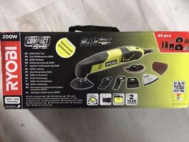 Ryobi RMT200-SA44 Multi Tool with Accessories 200w 240v BRAND NEW