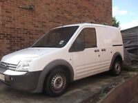 FORD TRANSIT CONNECT 57 PLATE WITH SIDE LOADING DOOR