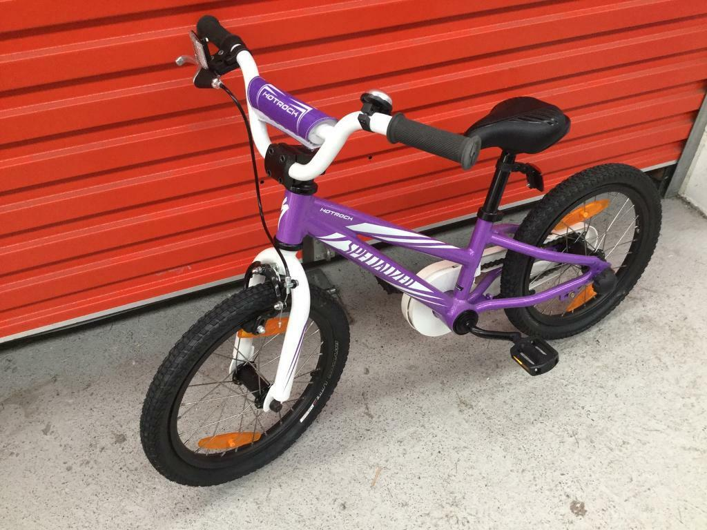 Hotrock Specialised Girls Bike Used Only A Few Times 16 Quot 16