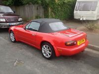 MX5 ROADSTER,, SUPERB CONDITION,, UPGRADED LEATHER,, MUST SEE,, POSS SWAP/EXCHANGE?