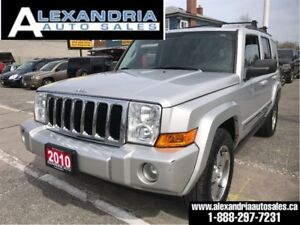 2010 Jeep Commander Sport/91km/navi/leather/sunroof/accident fre