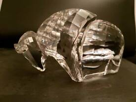 SWAROVSKI CRYSTAL BUFFALO, LARGE HEAVY BISON