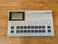 Roland TR-505 Drum Machine + ROM Expansion Linn LM-1, LinnDrum & Oberheim DMX
