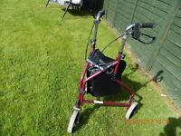 Disabled persons equipment ( Walking aid & Shower chair)
