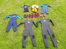 Wetsuits for kids / children. Best quality