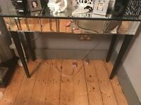 Mirrored console table/ dressing table/ hall table