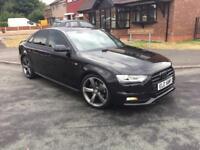 Audi A4 s lin black edition fash 30£ rd tax