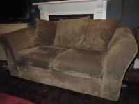 Two Seater Chenille Sofa - Next