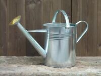 Watering Can New Galvanized Steel 2 Gallon