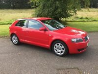 Audi A3 special edition mot & service history