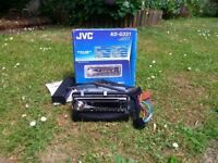 JVC Radio/CD Player/MP3